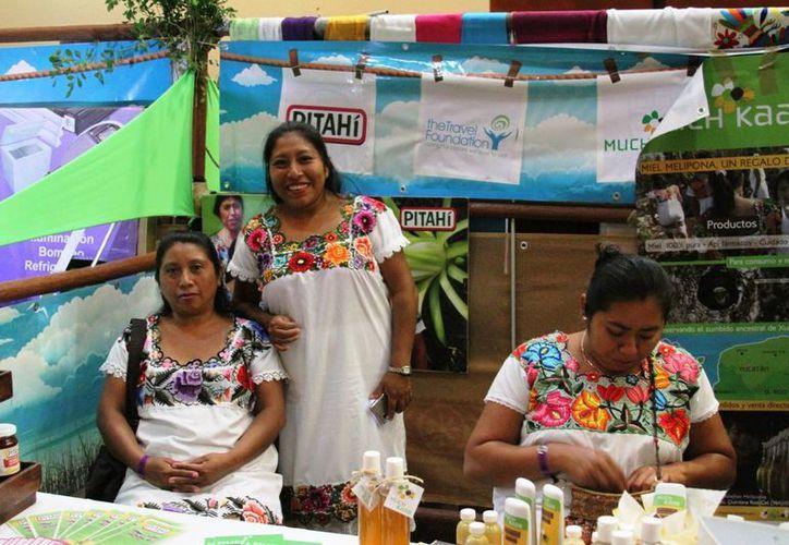 El Eco Maket pretende ser un escaparate para los productores de la zona. (Octavio Martínez/SIPSE)