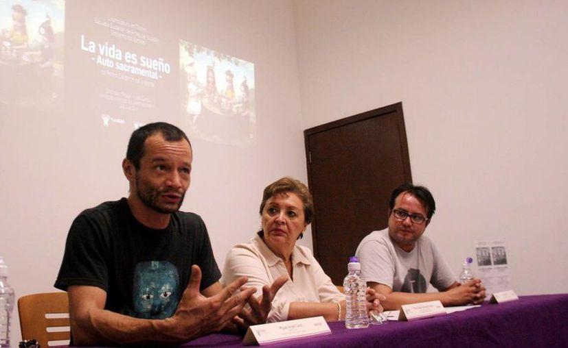 Presentación oficial de la obra dramática cuyo tema central es la libertad, frente al destino. (Christian Ayala)
