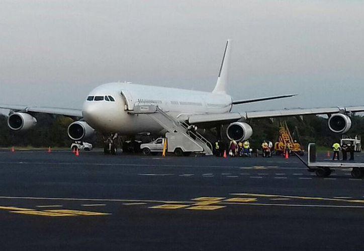 La próxima semana aterrizarán en Cozumel 38 aviones comerciales. (Irving Canul/SIPSE)