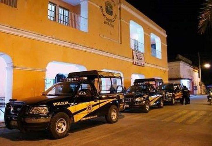 Por el asalto, se implementó un fuerte operativo en esta localidad y municipios circunvecinos para dar con el paradero de los responsables. (Foto: Redacción)