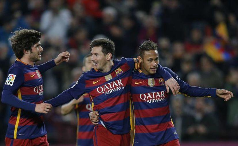 El FC Barcelona disputará su segunda final consecutiva de Copa del Rey. Además es el claro favorito para llevarse el trofeo copero ante el Sevilla. Aún no se sabe cuál será la sede. (AP)