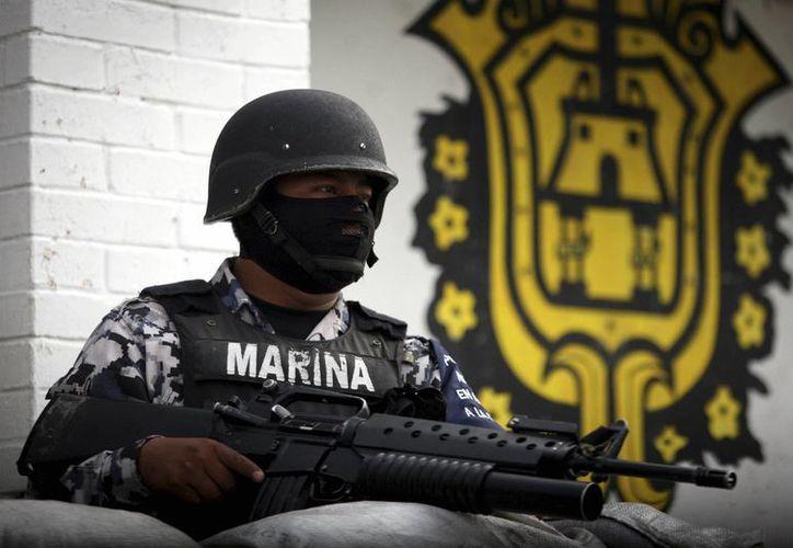El responsable de las operaciones de la Armada anunció la llegada de más elementos de la Marina a Chiapas.(Imagen de Archivo)