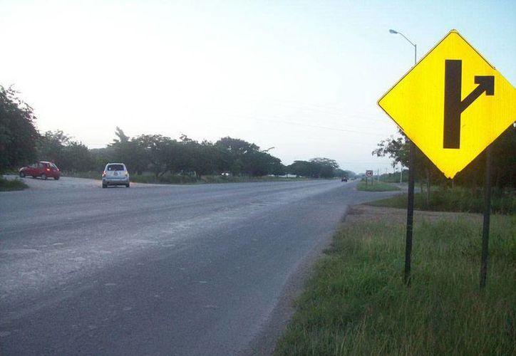 El periférico de Mérida, por el número de accidentes mortales, es un lugar 'propicio' para apariciones fantasmales. Imagen de contexto. (Jorge Moreno/SIPSE)