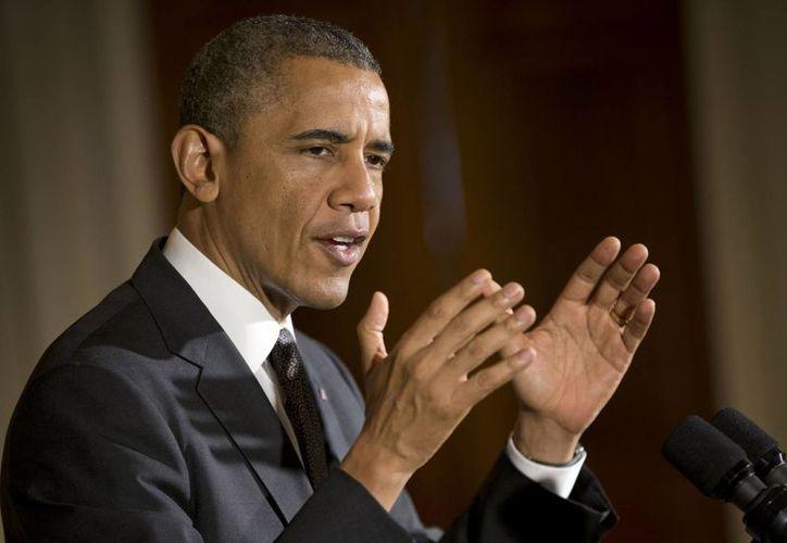 Obama asegura que una amplia reforma migratoria será clave para la prosperidad de EU. (AP)