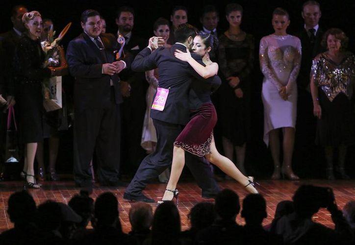 Los campeones mundiales de tango se presentarán este sábado en Cancún. (Cortesía)