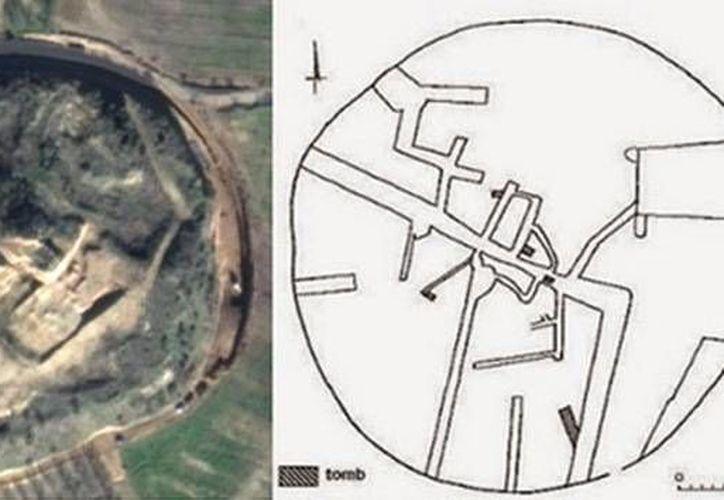 La investigación consistió en hacer un escáner geofísico de la zona donde se localiza el túmulo de Kasta. (ancient-origins.net)