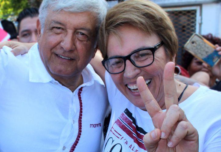 La candidata por la alcaldía de Solidaridad, explicó que vienen tiempos mejores para el  municipio.
