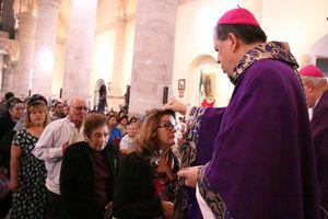 Arzobispo de Yucatán celebra el Miércoles de Ceniza