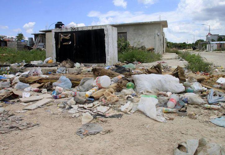 Las colonias populares han abandonado la práctica del reciclaje. (Harold Alcocer/SIPSE)