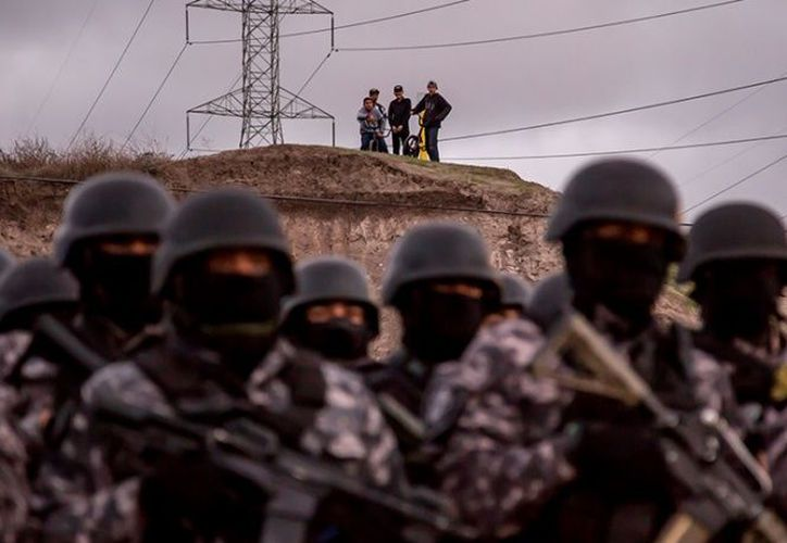 Sujetos armados dispararon hasta dos ráfagas en un casino clandestino de Tijuana. (Cuartoscuro)