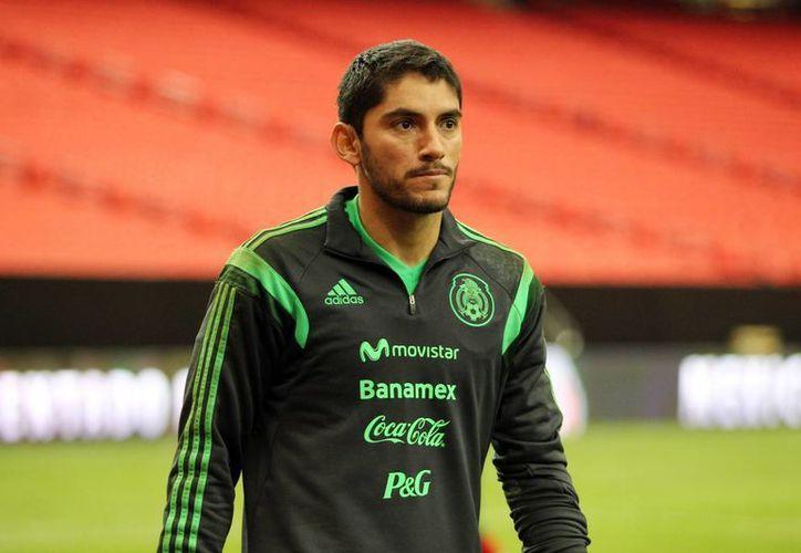 Jesús Corona, experimentado arquero mexicana de 33 años, se casará el 11 de julio, justo dos días antes de la final del Mundial. (Archivo/SIPSE)