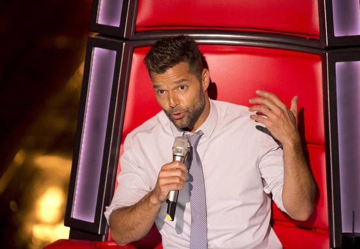 """Ricky Martin planea sumar a miembros de su equipo de """"La Voz... México"""" en alguna presentación, como lo hizo en Australia. (AP)"""