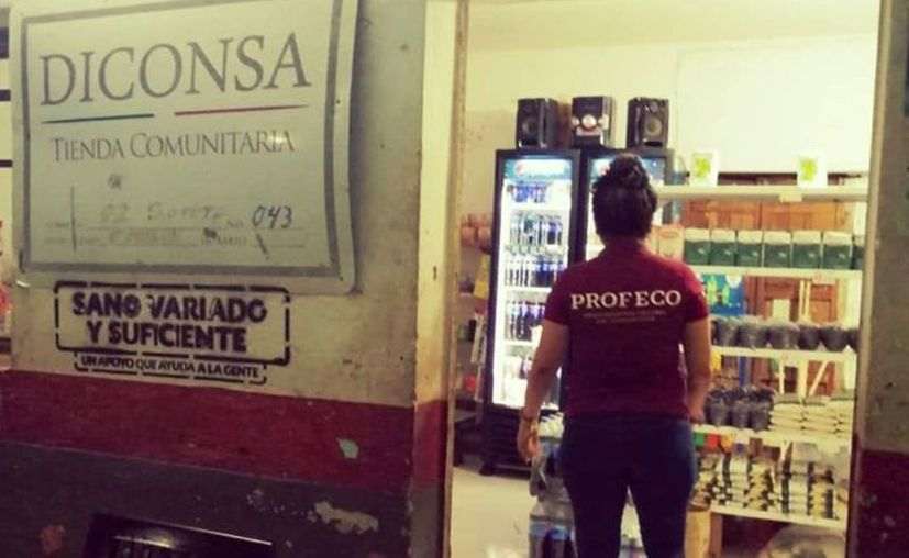 Se pudo constatar que en las tiendas de abarrotes particulares de las comisarías existe escasez en algunos productos. (Novedades Yucatán)