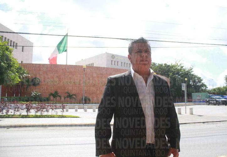 El representante de la Fundación No Más Negligencias Médicas interpuso el amparo. (Sergio Orozco/SIPSE)