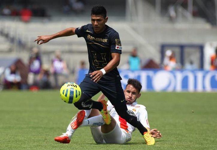 Jesús Gallardo(foto) es el único futbolista de la Cantera Universitaria que se encuentra teniendo participación en el esquema titular de Palencia.(Notimex)