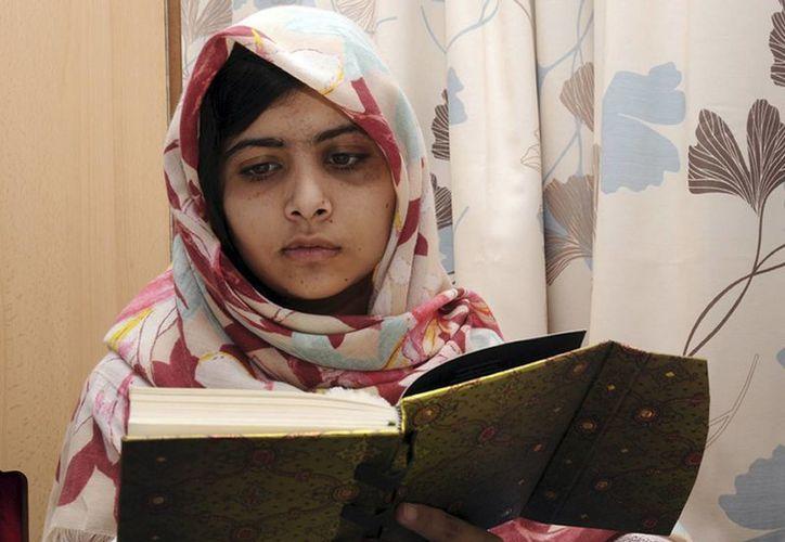 Malala Yousafzai hace campaña por la educación de las niñas. (Agencias)