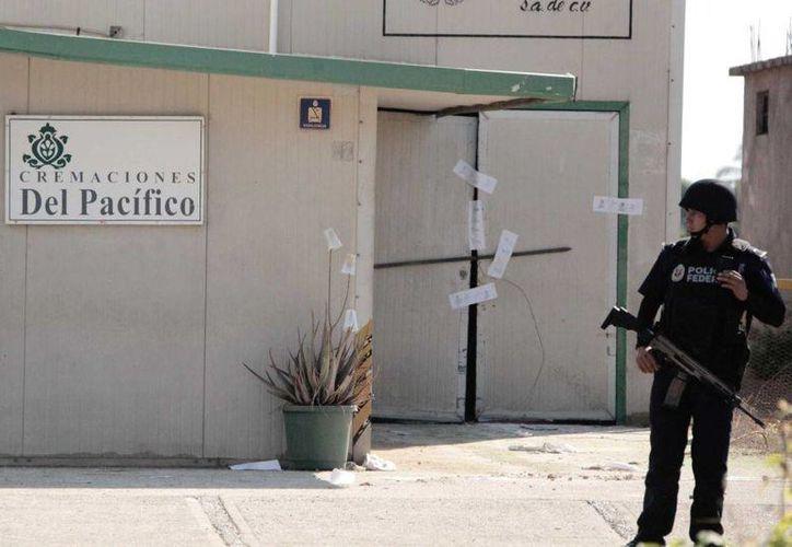 Una llamada anónima alertó a las autoridades sobre el 'Cremaciones El Pacífico'. (Archivo/AFP)