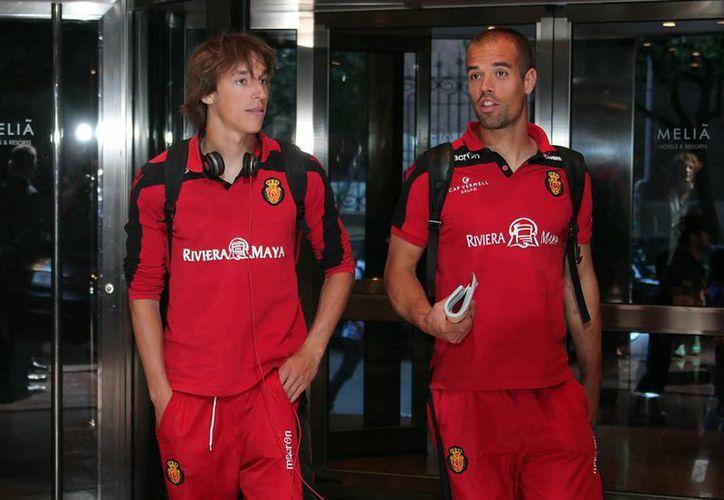 Promoción de la Riviera Maya en la camiseta del equipo de fútbol Mallorca. (Foto de Contexto/Internet)