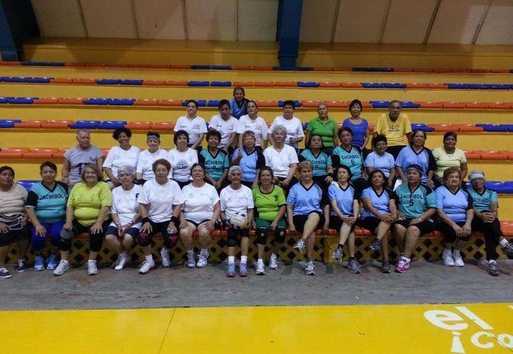 Los partidos de cachibol se realizarán en el Kuchil Baxal. (Ángel Mazariego/SIPSE)