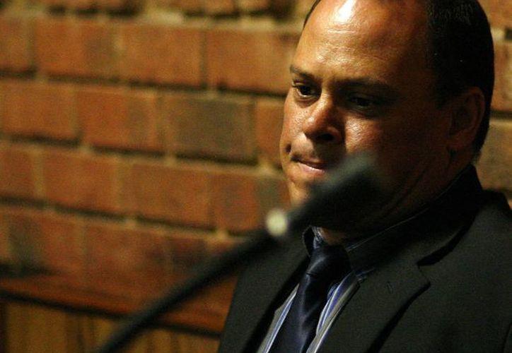 La Policía sudafricana se reservó los motivos de la renuncia del detective Hilton Botha. (Agencias)