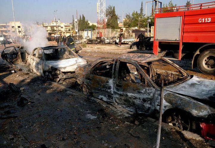 La mayoría de los muertos fueron efectivos del régimen sirio, informan. (Agencias)