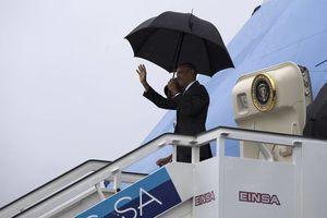 Barack Obama llega a Cuba en visita oficial