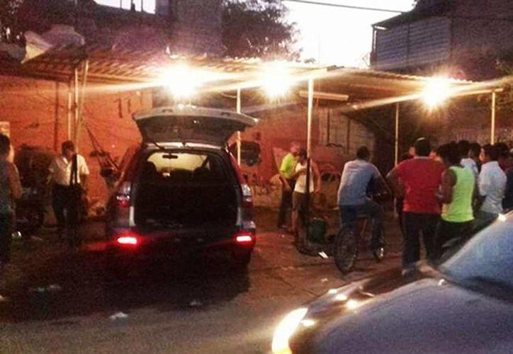 Imagen del lugar donde asesinaron al periodista Cecilio Pineda Birto en Pungarabato, Guerrero. (proceso.com.mx)