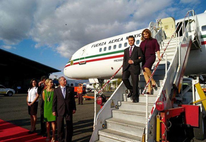 La flota aérea del Estado Mayor Presidencial tendrá un costo para el uso de cualquier funcionario público. (Notimex)