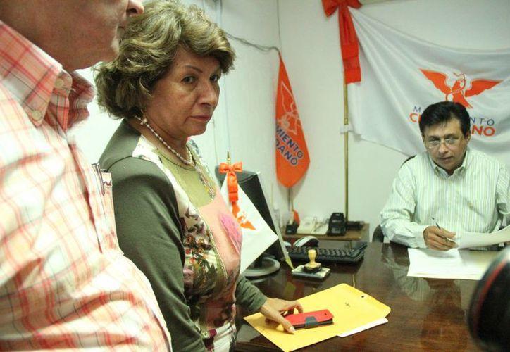 Ana Rosa Payán Cervera está registrada como precandidata del Partido Movimiento Ciudadano. (José Acosta/SIPSE)