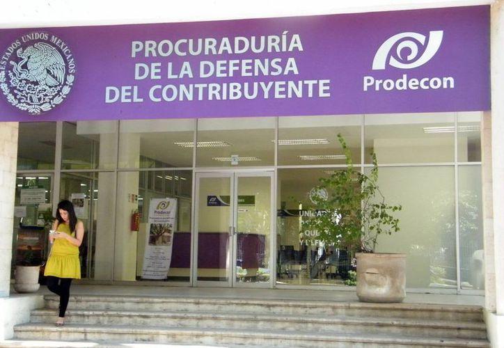 La Prodecon presta diversos servicios a los contribuyentes. (SIPSE)