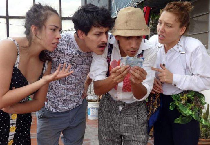 Imagen de la obra de teatro 'Pasos en la azotea', que se presentará del viernes al domingo a las 18:30 horas en Tapanco Centro Cultural. (Milenio Novedades)