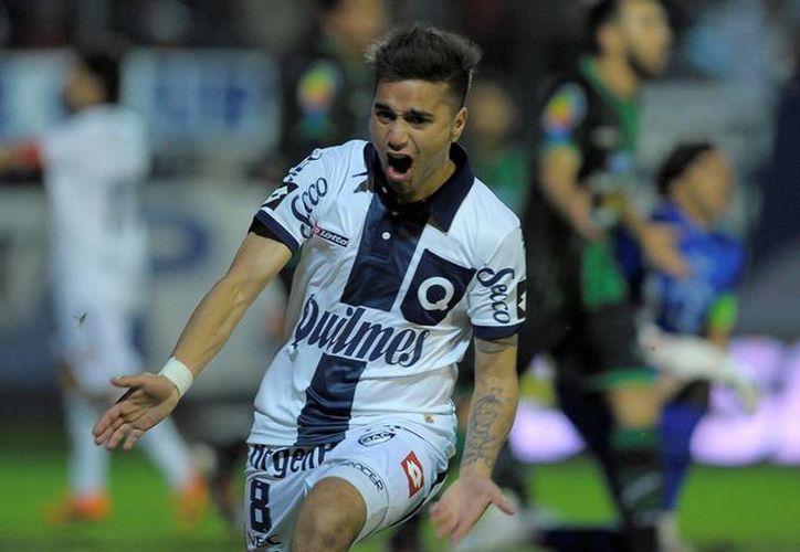 'Droopy' Gómez llega al Toluca procedente del futbol argentino.  (tycsports.com)