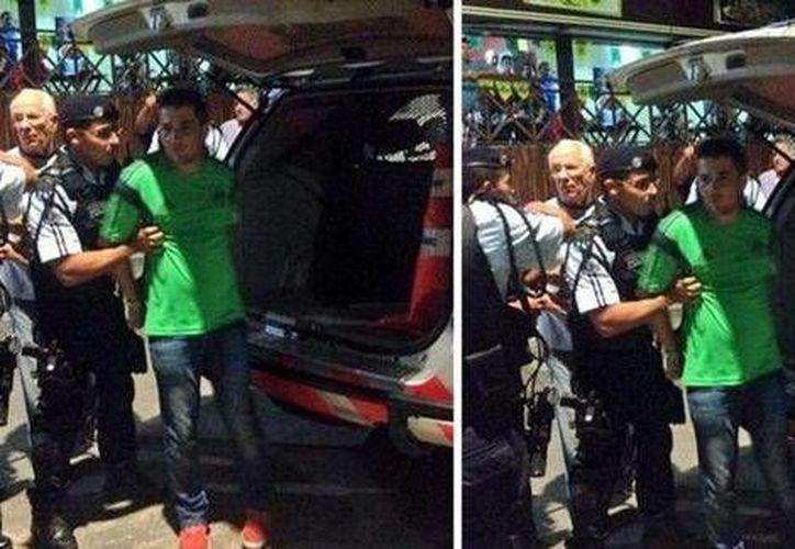 Los mexicanos fueron detenidos en junio pasado tras escandalizar en la vía pública de la ciudad de Fortaleza. (Archivo/SIPSE)