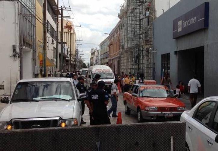 Mérida vive embotellamientos ocasionados por el cambio de paraderos, previo a los Festejos Patrios de esta noche. (SIPSE)