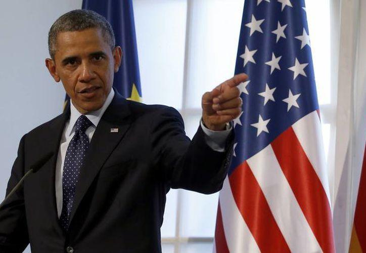 Obama defendió el miércoles los programas de vigilancia de internet y llamadas telefónicas de la NSA. (Agencias)