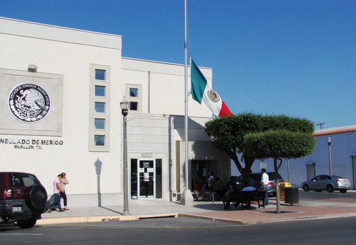 Vista del Consulado mexicano en Dallas, Texas. (grupomiradio.mx)
