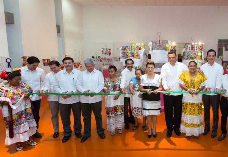 """La ceremonia del IV Concurso Estatal de Bordado """"Addy Rosa Cuaick"""" se realizó en el Gran Museo del Mundo Maya. (Milenio Novedades)"""