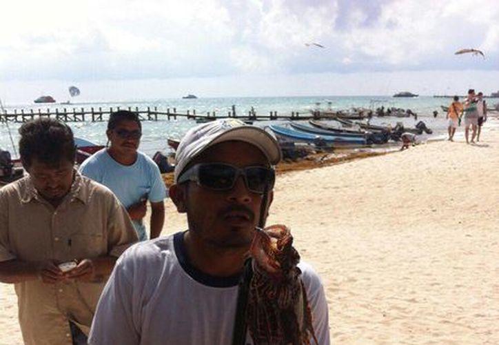 La demanda del pez león va en aumento entre las empresas de banquetes de la Riviera Maya. (Octavio Martínez/SIPSE)