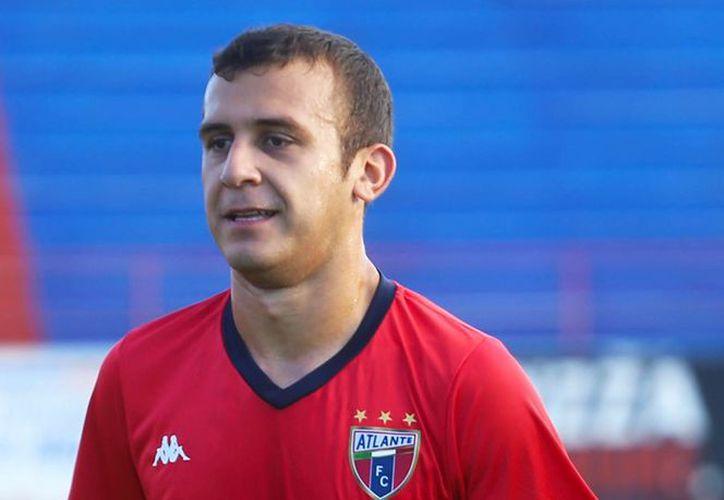 Alex Garcete debutó en el Club Olimpia en el 2012. (Redacción/SIPSE)