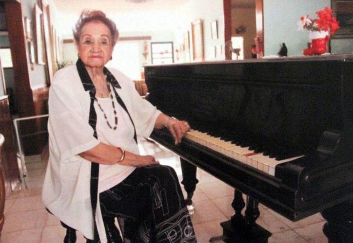 """Judith Pérez Romero forma parte de """"La Pieza del Mes"""", que en el Museo de la Ciudad rinde homenaje a 12 reconocidas mujeres. (SIPSE)"""