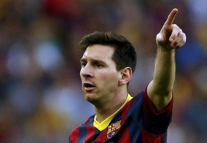 """Directivos del Barza han definido la relación entre el Barcelona y Messi como """"un matrimonio que funciona muy bien desde hace muchos años"""". (EFE/Archivo)"""