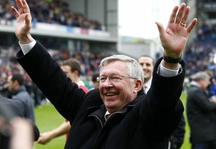"""De cara al futuro, el entrenador dice que será """"director y embajador"""" del United. (Agencias)"""