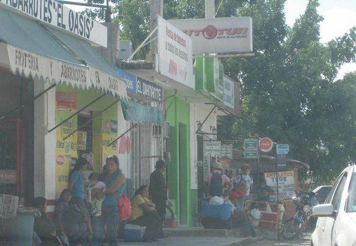 Es común que los sanitarios de los establecimientos se saturen en el verano debido a la alta afluencia de vacacionistas. (Javier Ortiz/SIPSE)