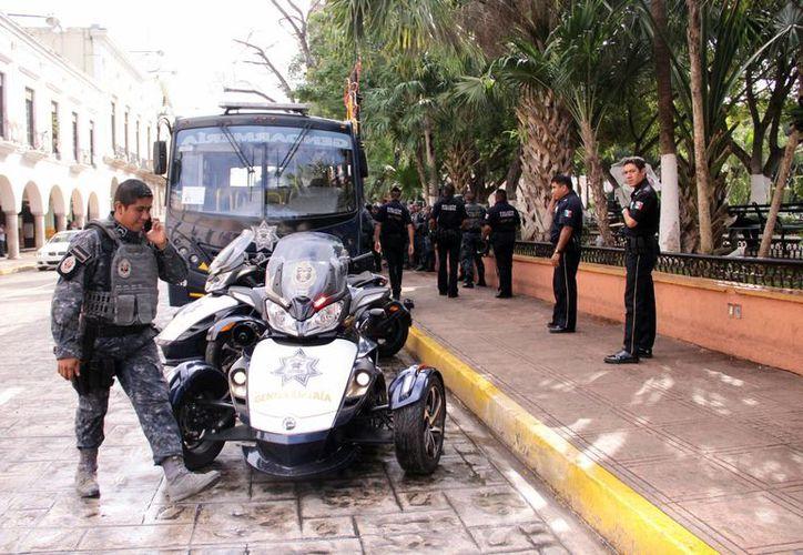 El destacamento de la Gendarmería llegó a Yucatán el 12 de noviembre de 2015 iniciando operaciones un día después. (Archivo/ Milenio Novedades)