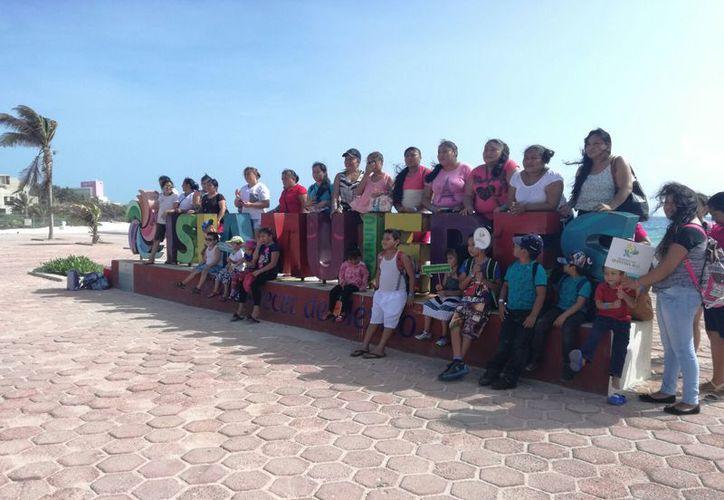 El 70% de las personas sería la primera ocasión que llega a Isla Mujeres. (Stephani Blanco/SIPSE)