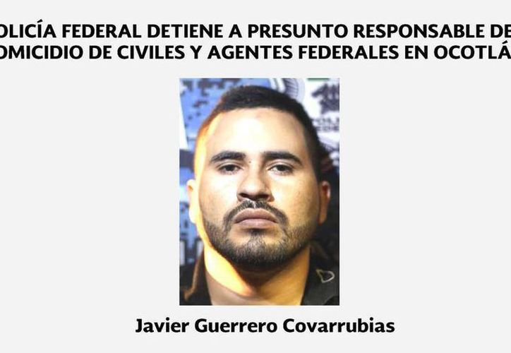 A Javier Guerrero Covarrubias se le acusa de ser el autor intelectual del ataque a elementos de la Gendarmería en Ocotlán. (@PoliciaFedMx)