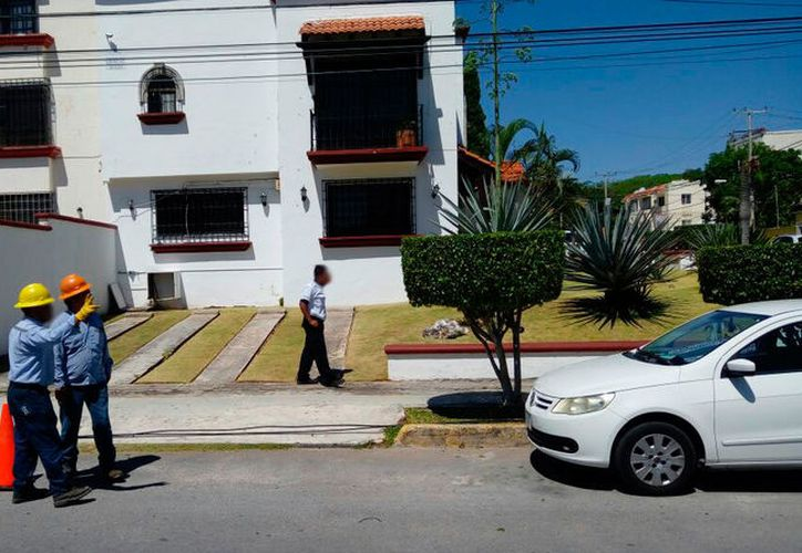 Poco antes de la una horas, atacaron la sede de la Notaría 74, en la calle Miramar, de la Supermanzana 15. (Redacción/SIPSE)