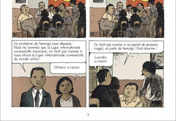 Un comic gráfico de 128 páginas sobre la pintora mexicana Frida Kahlo, Diego Rivera y León Trotski ha tenido éxito en Europa, luego de publicaciones similares recientes sobre Van Gogh, Velázquez y otros de los mejores pintores de la historia. (EFE)