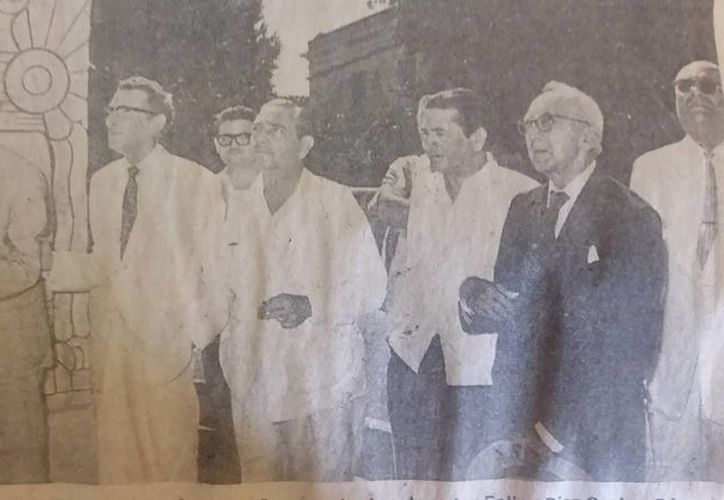 El 23 de abril de 1956 se inauguró, por fin, el monumento a la patria en Mérida, obra señera de Rómulo Rozo. (Sergio Grosjean/SIPSE)