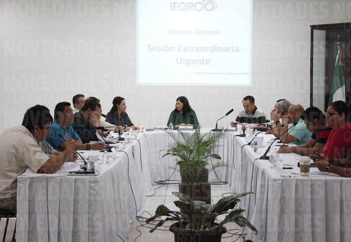 El Ieqroo atendió primero la solicitud del PES, después, la de Morena. (Joel Zamora)